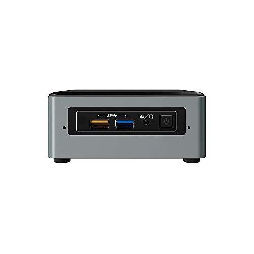 Intel Nuc Mini Komplett PC, Intel Quad Core 4 x 2,30 GHz, 8 GB RAM, 128 GB SSD, USB 3.0, HDMI, VGA, Intel HD Grafik, 4K Auflösung, Windows 10 Pro, 3 Jahre Garantie