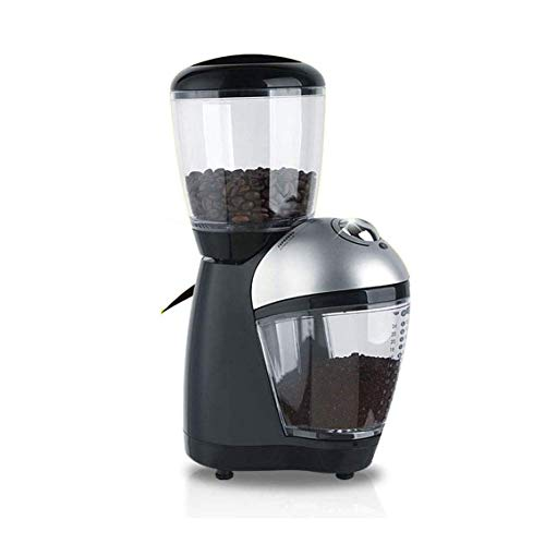 ZOUSHUAIDEDIAN Conical Burr Coffee Grinder Electric,Stainless Steel Automatic Coffee Mill Grinder, Large Capacity Hopper Coffee Bean Grinder for Home, Office, Kitchen,The Best Gift for Coffee Lovers