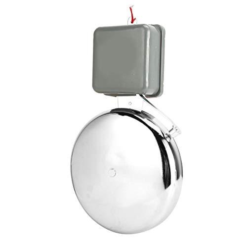DAUERHAFT Sin interferencia electromagnética Campana eléctrica de 8 Pulgadas Campana eléctrica para agencias de fábricas Escolares(220V)