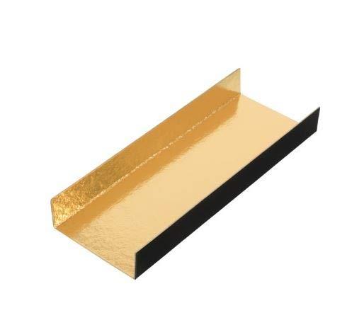 Sales for sale Monoportion Overseas parallel import regular item Mini Rectangular Foldable Cake Board Black Cardboard