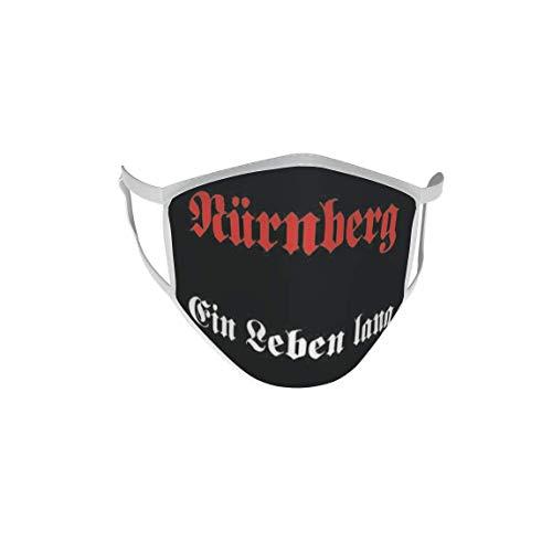 U24 Behelfsmaske Mund-Nasen-Schutz Stoffmaske Maske Nürnberg EIN Leben lang
