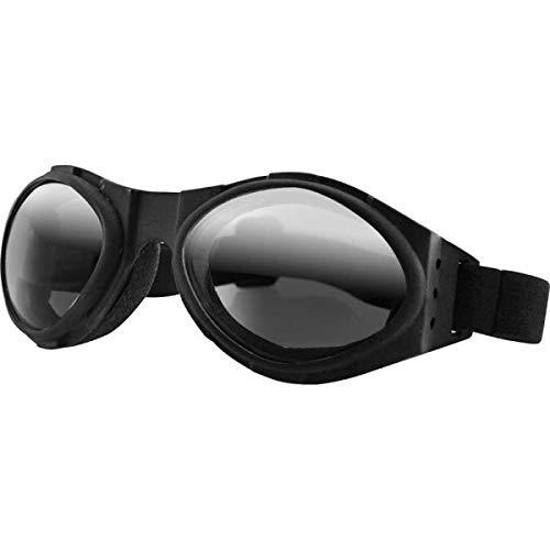 Brille BOBSTER BUGEYE Goggle TELAY SCHWARZ LENTI Spiegel FUMÈ