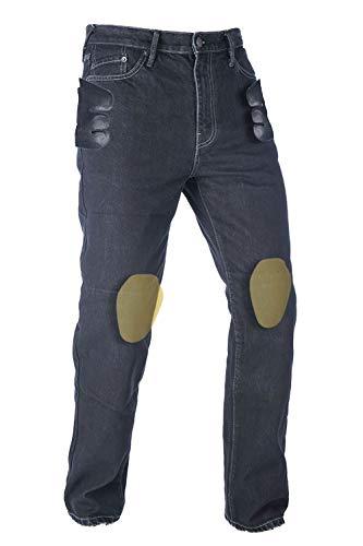 Oxford Herren Original Approved Motorradstiefel, Schwarz, UK 30 Short