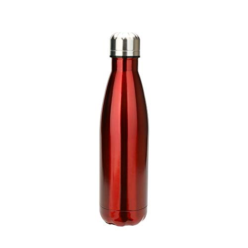 304 roestvrij staal Vacuum Cup Fashion Kleurrijke Vacuum Cup Outdoor Thermosfles Sportfles Home Kitchen supplies (Color : Red)