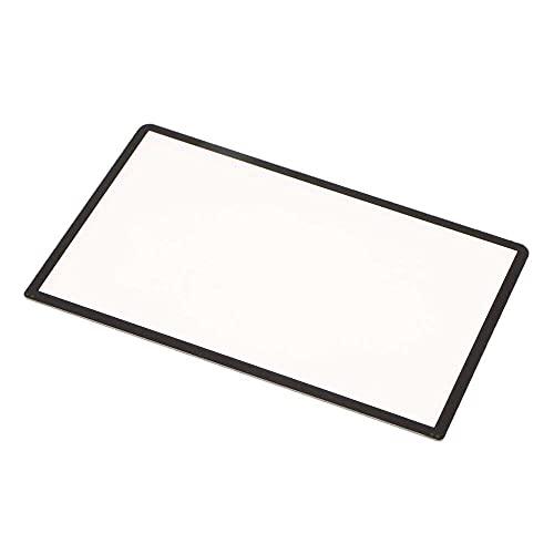 qiaohuan shop Para 3DS Protector de Pantalla, Reemplazo de Pantalla Protective Cover Negro Parte Superior Superior Lente De La Pantalla Cubierta De Plástico Para Nintendo Nuevo 3DS XL