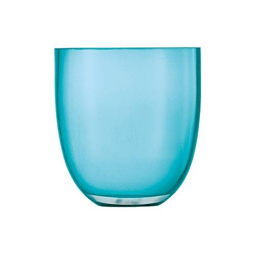 Schott Zwiesel Vase/Windlicht türkis/Vase/Lantern Turquoise