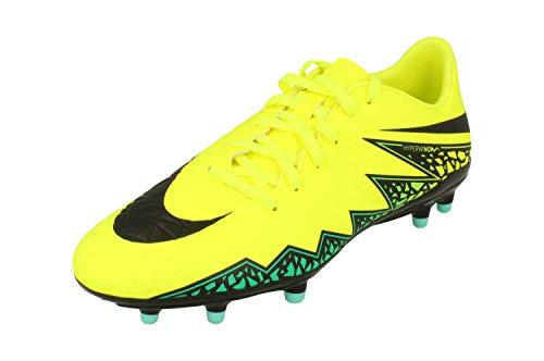 Nike Hypervenom Phelon II FG, Botas de fútbol para Hombre, Amarillo (Amarillo (Volt/Black-Hyper Turq-Clr Jade), 40 1/2 EU