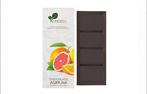モディカ チョコレート 柑橘類 Modica Chocolate Agrumi 100g イタリア シチリア