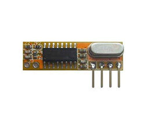 GFYSHIP 10pcs Superheterodino RXB12 DC3.3-5V Pregunte Módulo Receptor RF 315/433.92MHz TTL