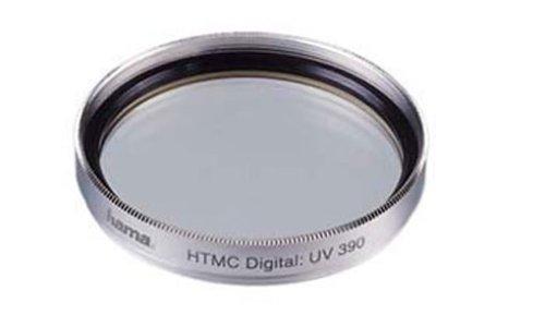 Hama UV Filter 390 (O-Haze), 52.0 mm, HTMC Coated, Silver - Filtro para cámara (52.0 mm, HTMC Coated, Silver, Plata)