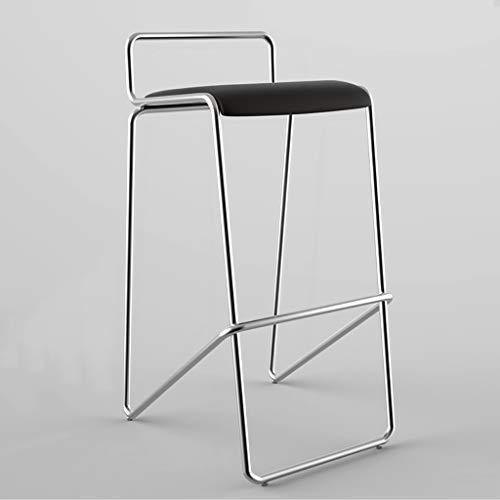 BTPDIAN Barkruk hoge kruk | barstoel hoge stoel | thuis hoge kruk balie bar kruk Zwart