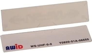 AWID APPLIED WIRELESS ID WS-UHF-0-0 UHF WINDSHIELD TAG, ADHESIVE MOUNT