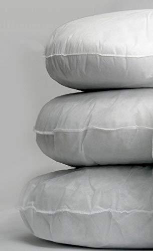 Trade Star 32' Cushion Inners,Round Pillow Filler, Round Pillow Sham Stuffer, Cushion Pads, Polyester Fiber Pillow Insert Exports (Pattern 1, 1 Cushion)