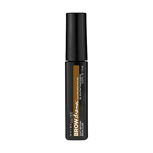 Maybelline New York Brow Drama Mascara per Sopracciglia, Medium Brown