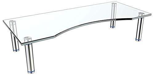RICOO Soporte de base para TV y monitor FS5624-C mueble mesa de...