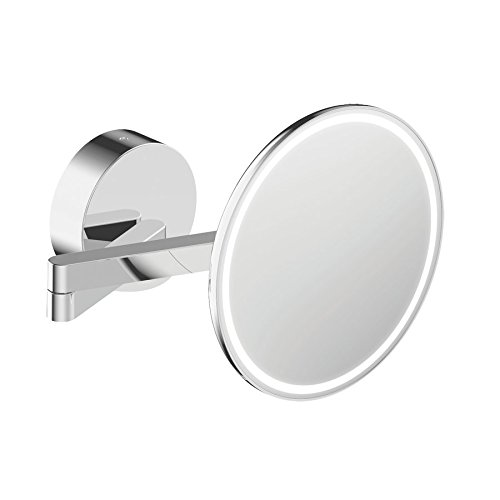 SAM Kosmetikspiegel, Chrom, 20.7 x 39.4 x 20.7 cm