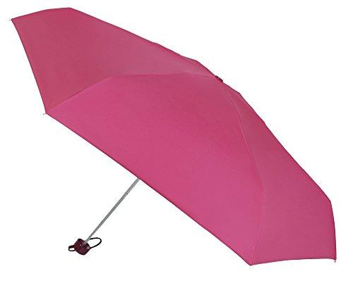 Cuida tu Salud y Protege tu Piel. Nueva colección Paraguas VOGUE® Factor Protección Solar FPS 50+. Bloquea el 98% de los Rayos UVB. Disfruta del Sol sin riesgos. (Fucsia)