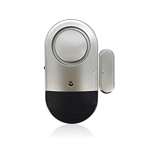 Sensor de puerta inalámbrica de alarma Chime Alarmas de la ventana de la puerta Alarmas de ladrón de seguridad para el hogar magnético con 100dB para el paquete antirrobo 2 Tienda de la puerta de la p