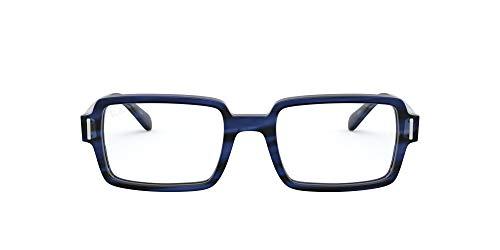 Ray-Ban 0rx5473 Gafas, STRIPED BLUE, 50 para Mujer
