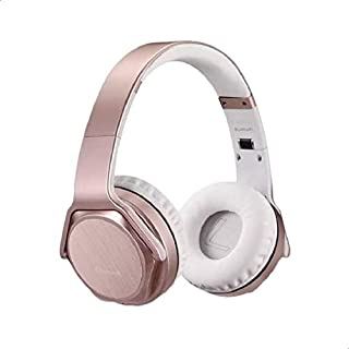 Sodo MH3 Bluetooth 4.2 Wireless Headphone Twist out Speaker 2 in 1 Support NFC, FM Radio, TF Card And Audio In - Pink White