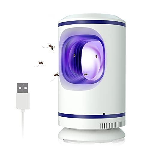 Lampada Antizanzara Elettrica, Zanzariera Elettrica USB, Mosquito Killer Luce UV, Elettrico Trappola...