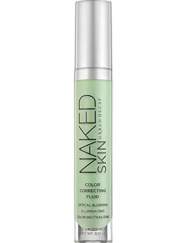 Urban Decay Naked Skin Color Correcting Fluid ~ Green - reduces redness …