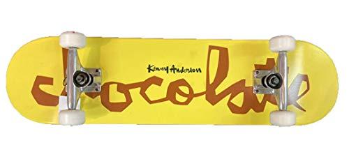 CHOCOLATE チョコレート スケートボード コンプリート KENNY ANDERSON ケニー・アンダーソン [CH-101] [CH-102] 完成品 スケボー SKATE BOARD COMPLETE (7.75×31.125_[CH-102],