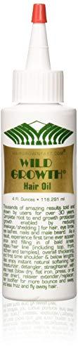 Wild Growth Hair Oil 3pcs x 4oz