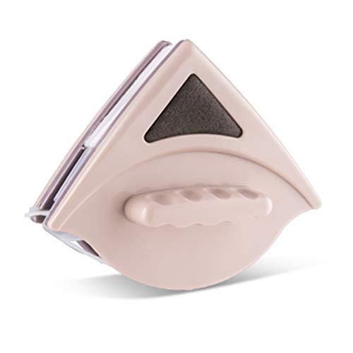 DERCLIVE Brosse de Nettoyage de Vitre Magnétique Double Face Essuie-Glace pour Vitre de 15 à 24 Mm D'épaisseur Propre sans Coins Morts