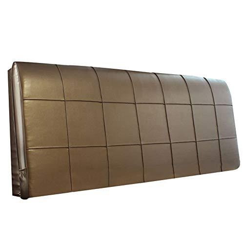 LIQICAI Keilkissen Riesenkissen Größe Kann Angepasst Werden Ideal Zum Lesen Hilft Bei Saurem Reflux Rückenlehne Bett Kissen (Farbe : Kaffee, größe : 150 * 8 * 58cm)