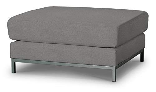 Dekoria Kramfors Hockerbezug Sofahusse passend für IKEA Modell Kramfors grau-beige