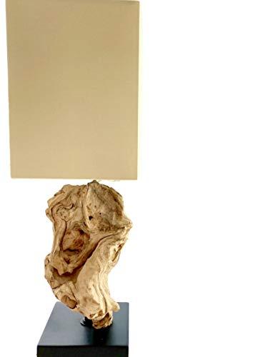 Design Tischlampe aus Treibholz HIGHLAND (Nature Hell)