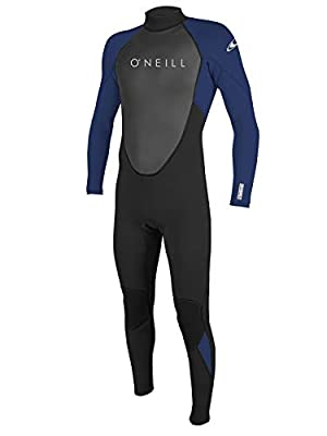 O'Neill Reactor 2 Men's 3/2mm Full Wetsuit XL-Tall Black/Navy/Navy (5283IS)