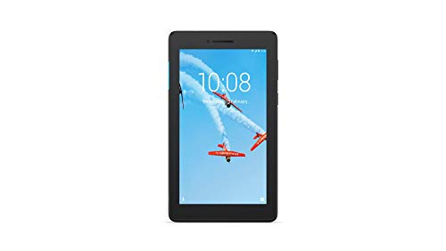 Lenovo Tab E7 TB-7104F Tablet, Display 7' 1024 x 600 pixels, Processore Qualcomm, 8 GB Espandibili fino a 128 GB, RAM 1 GB, WiFi, Android Nougat, Nero