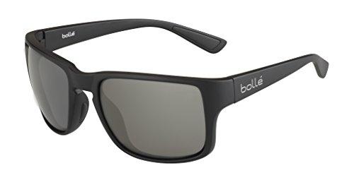 bollé Erwachsene Slate Sonnenbrille, Black Matte, Medium