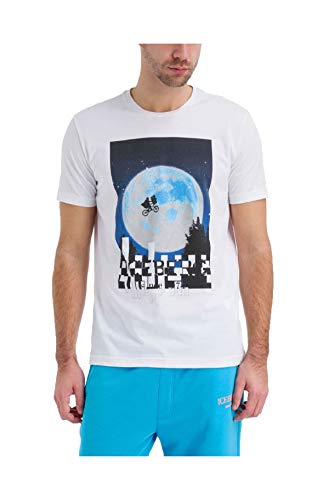 Iceberg T-Shirt Uomo F02363011101 Bianca PE20 S