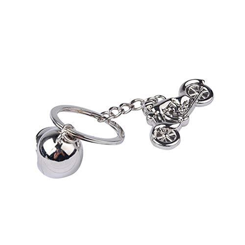 gaeruite Mini Motorrad Helm Keychain Geschenk für Mann, Freund, Girfriend, Papa, Mama, Bruder, Schwester