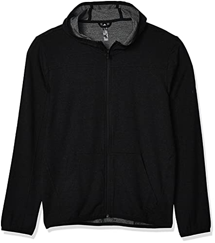 adidas City FLC F/Z HD Sweatshirt, Hombre, Black, L