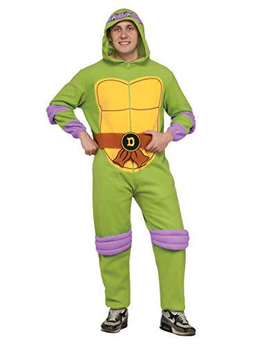 Rubie_s Costume Co. Adult TMNT Adult Donatello Jumpsuit Costume