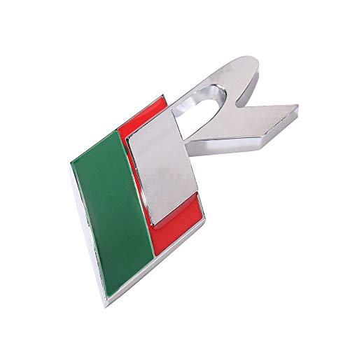 XHULIWQ Auto 3D Metall Chrom Emblem, Für Jaguar XJ XF XK X-Type, Auto Außenaufkleber Abzeichen Aufkleber Zubehör Dekoration