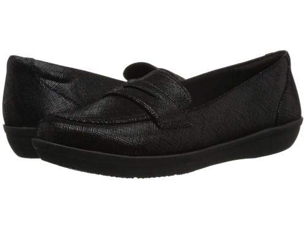 解き明かすチャンピオンシップテクスチャーClarks(クラークス) レディース 女性用 シューズ 靴 ローファー ボートシューズ Ayla Form - Black Synthetic [並行輸入品]