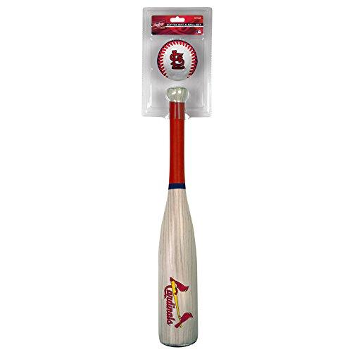 MLB St. Louis Cardinals Grandslam Bat and Ball, Red