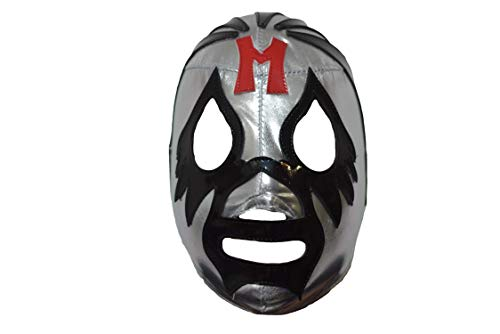 Mexican Wrestling Mask Adult - (Mil Mascaras Silver)