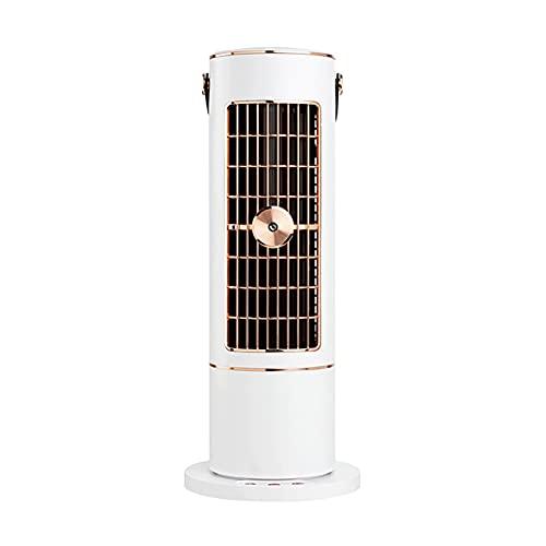 KJIU Abanico de la Torre, Fan de la Torre del humidificador del hogar Torre, Ventilador de Soporte portátil para Dormitorio, Sala de Estar y Oficina Gold