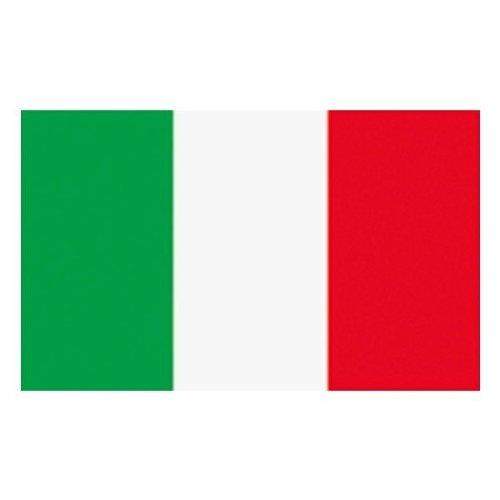 MM Italië vlaggen/vlag, weerbestendig, meerkleurig, 150 x 90 x 1 cm, 16304