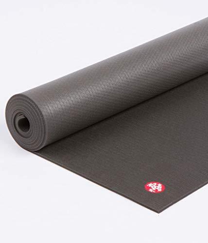 Manduka PRO Black Yogamatte - Schwarz (71x26x0,25)