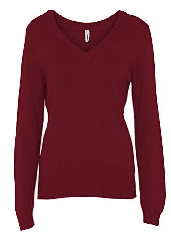 SOYACONCEPT - Damen Pullover, SC-Blissa 1 (32768), Größe:S, Farbe:Rot (4855)