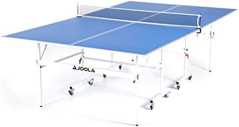 JOOLA Indoor 15mm Ping Pong Table with Quick Clamp Ping Pong Net Set Single Player Playback product image
