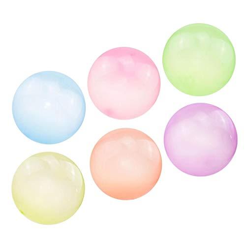 #N/A/a 6X Bola de Burbuja Inflable Super Stretch Bubbles Globo Outdoor Party L