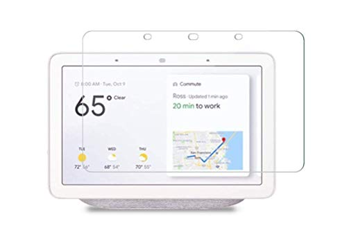 "M.G.R.J® Tempered Glass Screen Protector for Google Nest Hub/Google Home Hub (7"" inch, 2018 Rel.)"